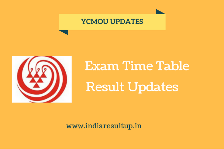 ycmou time table