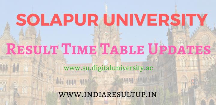 Solapur University Result