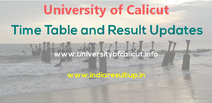 Calicut University Results