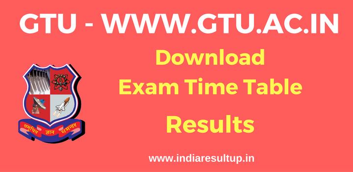 Gtu results