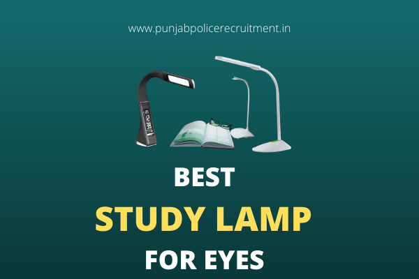 Best Study Lamp for Eyes in India